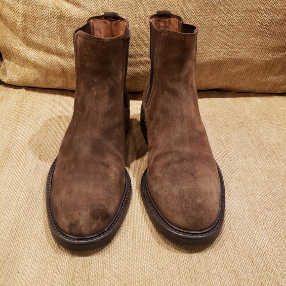 TODS Chelsea Suede Mens Boots